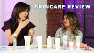 A Dermatologist Reviews Womens Skincare Routines