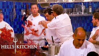 Gordon Ramsay Goes Berserk Over Wasted Fillet | Hells Kitchen