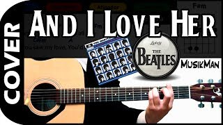 And I Love Her 🎸 - The Beatles / MusikMan #002