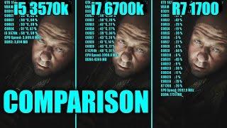 hmongbuy.net - Ryzen 7 1700 vs i5 6600k in Fallout 4 (GTX 1060)