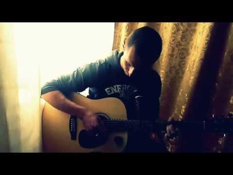 Твои карие глаза.песня под гитару Ахра.(cover)