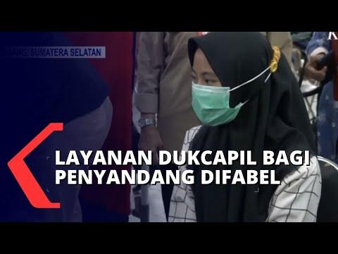 Keren! Di Palembang Ada Layanan Kependudukan Bagi Penyandang Difabel