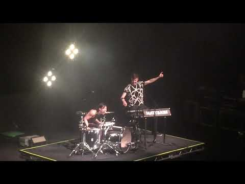 Matt and Kim live at The Warfield Theater