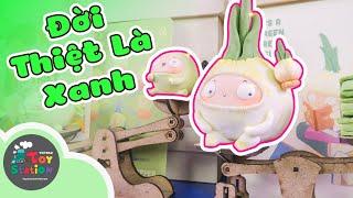 Đời Thiệt Là Xanh với bộ sưu tập rau củ siêu dễ thương từ Tidu Workshop ToyStation 423