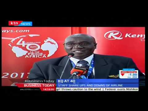 Kenya Airways marks 4O years of service and honors its longest serving employees