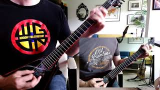 Domine - The Battle for the Great Silver Sword (Guitar Cover)