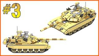 INSTRUCTIONS: LEGO T-90 M TANK   PART 3/3