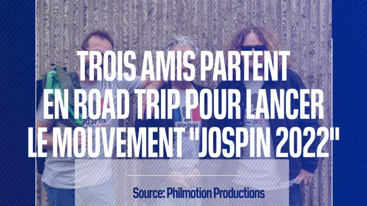 Trois amis entament un road-trip pour tenter de convaincre Lionel Jospin d'être candidat en 2022
