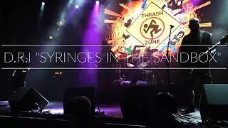"""D.R.I """"syringes in the sandbox"""" fra Rebellion 2018"""