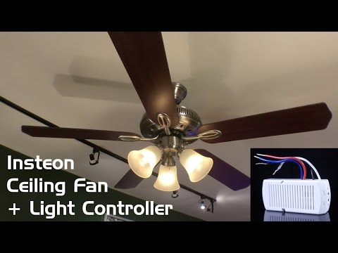 Install & Review: Insteon Ceiling Fan & Light Controller