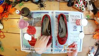 DIY Ruby Shoes
