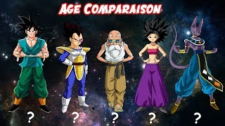Dragon Ball All Characters Age Comparaison (All Sagas)