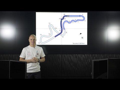 Suzuka F1 Circuit Guide with Valtteri Bottas & PETRONAS