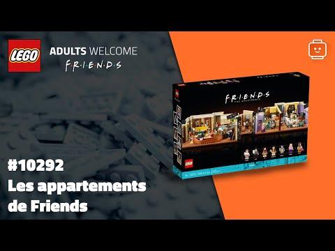 Vidéo LEGO Adults Welcome 10292 : Les appartements de Friends