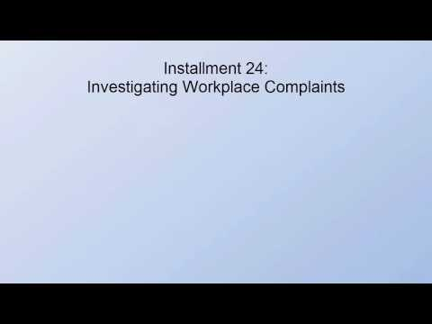 mp4 Managing Employee Complaints Directive, download Managing Employee Complaints Directive video klip Managing Employee Complaints Directive