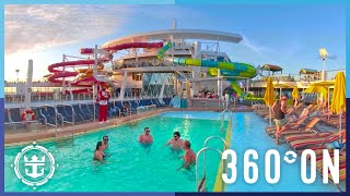 Oasis of the Seas: Amplified Pool Deck in 360º