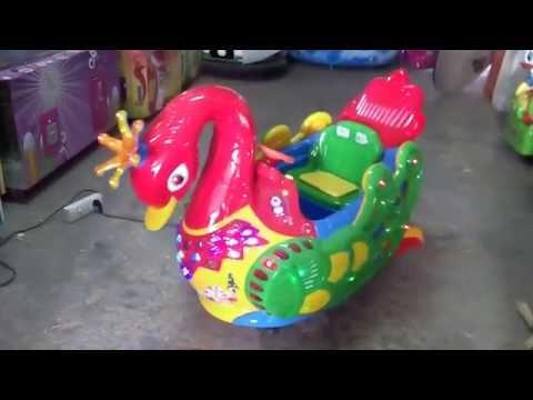 Kiddie Ride Swan