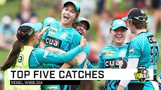 Top Five Catches of WBBL|04