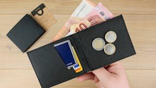 MINIMAL Wallet aus innovativem veganen Papier-Kunstleder von Fritzvold  // Slim Wallet // DEUTSCH