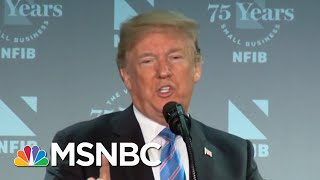 President Donald Trump Speech Reveals His Own Version Of Reality | MTP Daily | MSNBC