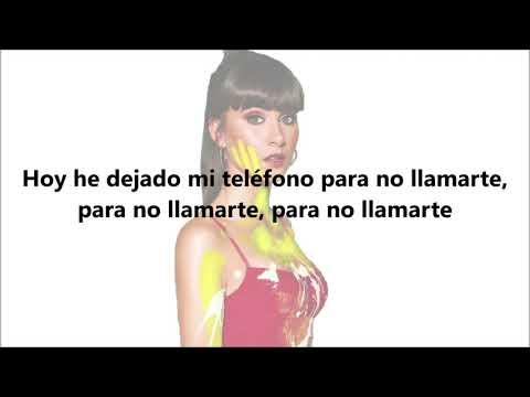 Aitana - Teléfono, Letra