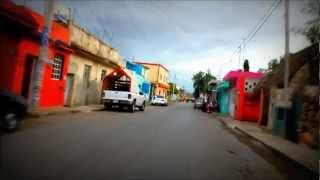 preview picture of video 'Paseo por Mototaxi por Ticul Yuc.'