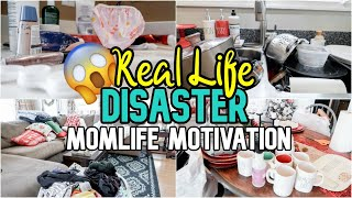 EXTREME! Messy House Clean With Me | All Day Whole House Cleaning | SAHM Motivation