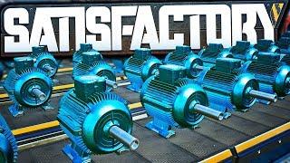 MEGA Motor Factory Setup! (150+ Machines!) - Satisfactory Early Access Gameplay Ep 55
