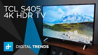 TCL S405 4K TV - Hands On Review