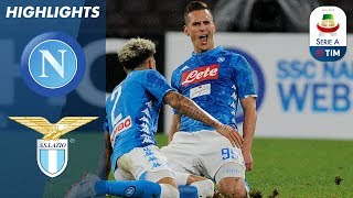 Napoli 2-1 Lazio | Goals From Callejón And Milik As Napoli Edge Past Lazio | Serie A