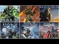 hd Halo Xbox Evolution 2001 2017