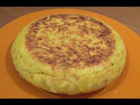 Receta:Tortilla De Patatas Española Riquísima