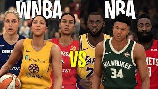 Can A Team Of The Best WNBA Players Win An NBA Championship? | NBA 2K20