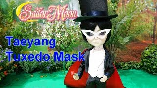 Taeyang Tuxedo Mask (Sailor Moon) doll unboxing & review