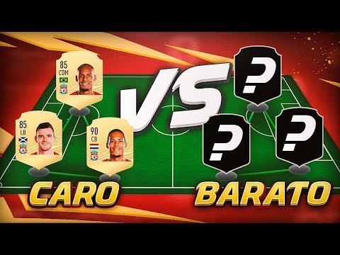 TRIÁNGULO DEFENSIVO CARO Y SU ALTERNATIVA BARATA !! FIFA 20 | CARO VS BARATO