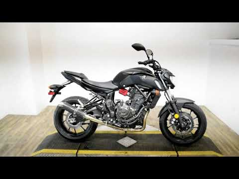 2019 Yamaha MT-07 in Wauconda, Illinois - Video 1