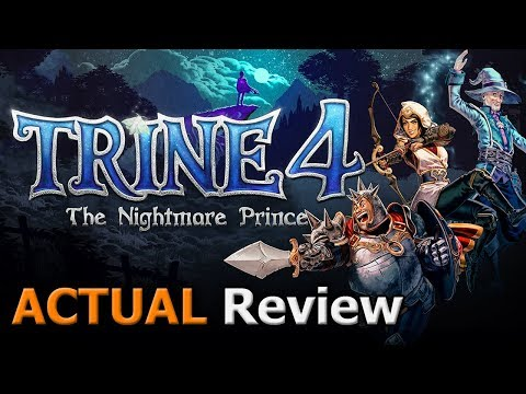Trine 4: The Nightmare Prince (ACTUAL Game Review) video thumbnail