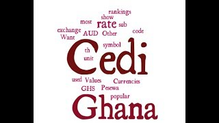 Ghana Currency - Cedi