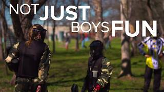 Not Just Boys Fun-Play Paintball Short (30 Second Spot)