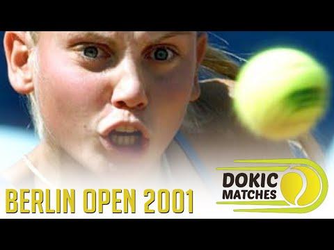 Jelena Dokic vs Jennifer Capriati - German Open, Berlin 2001