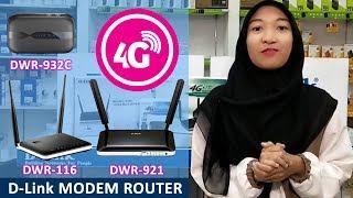 D-Link Modem 4G Routers DWR-116