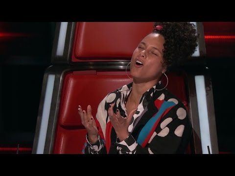 'The Voice': Watch Alicia Keys Passionately Serenade a Contestant to Win Her Over!