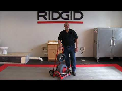 Meet the RIDGID K3800 professional drain cleaning machine