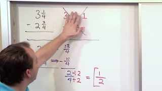 Lesson 11 - Subtracting Mixed Numbers (5th Grade Math)