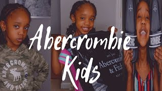 Abercrombie & Fitch Kids Try-On Haul & Review | KenyaWearsCurves 2019