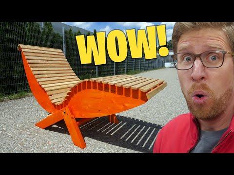 #1 Sonnenliege günstig selber bauen | Garten Möbel DIY |Lets Bastel