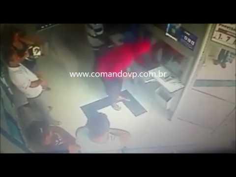 Bandido assalta casa lotérica
