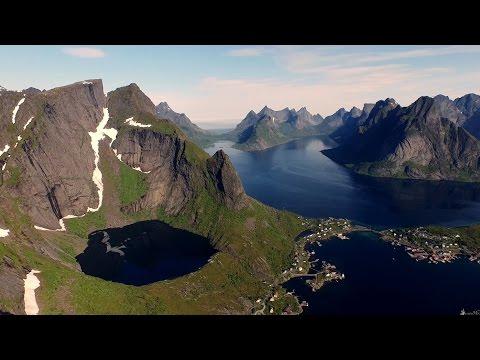 Suecia y Noruega Desde El Aire ¡Simplemente Precioso!