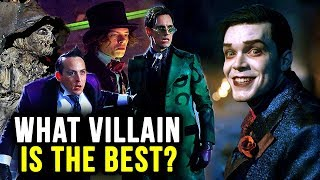 Gothams Villains Ranked From WORST To BEST!!