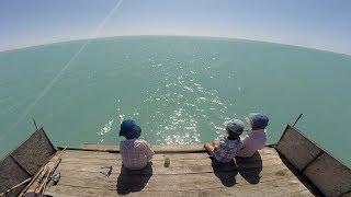 Отдых и рыбалка на озере балхаш